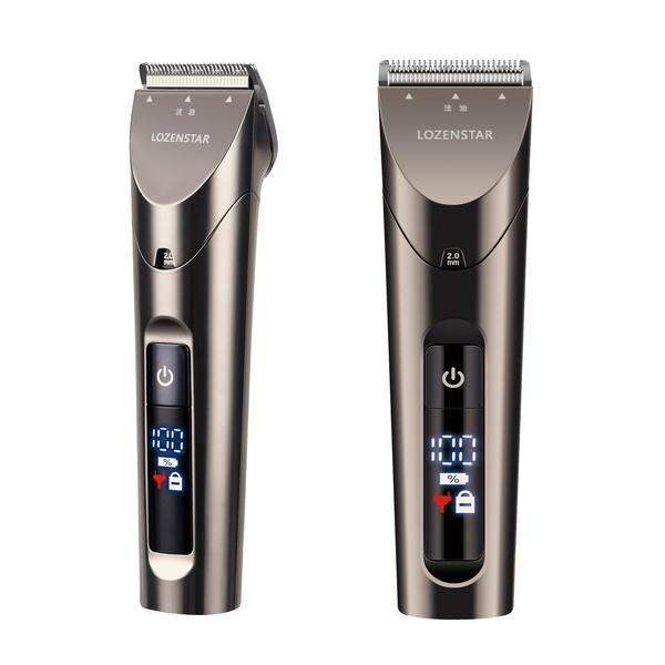 バリカン 散髪 充電式 コードレス 業務用 プロ仕様 メンズ 電気 電動 スキ 刈り高さ セルフカット 軽量 静音|kanaemina