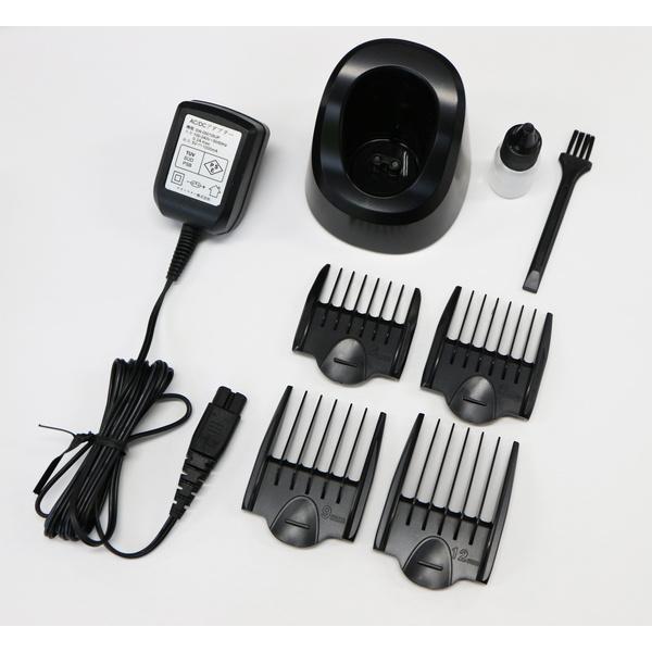 バリカン 散髪 充電式 コードレス 業務用 プロ仕様 メンズ 電気 電動 スキ 刈り高さ セルフカット 軽量 静音|kanaemina|02