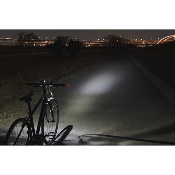 自転車用ヘッドライト LED バイクライト ジェントス 120lm 防滴 ブラック|kanaemina|04