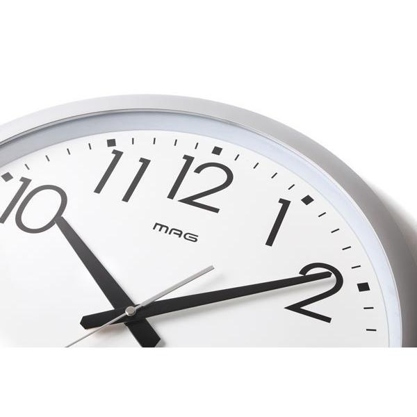 壁掛け時計 大きい 大型 電波時計 シンプル かけ時計 ウォールクロック 特大 ビッグ 直径42cm|kanaemina|02