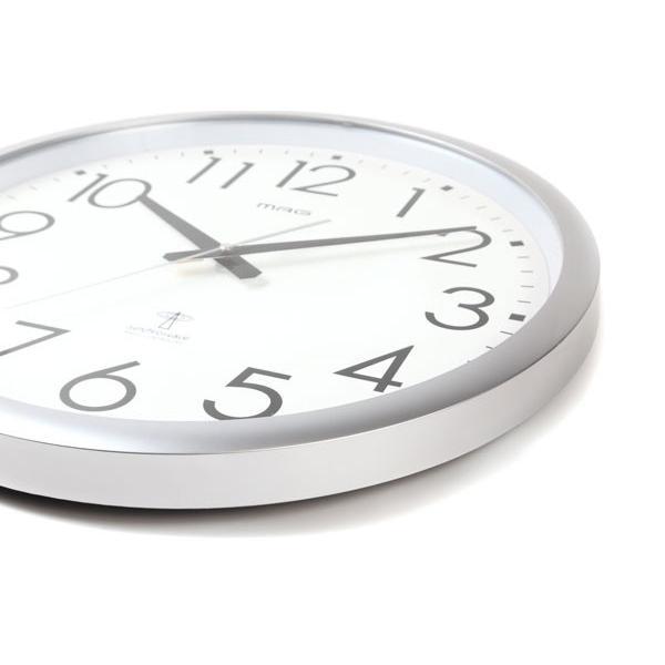 壁掛け時計 大きい 大型 電波時計 シンプル かけ時計 ウォールクロック 特大 ビッグ 直径42cm|kanaemina|03