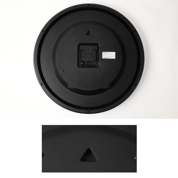 壁掛け時計 大きい 大型 電波時計 シンプル かけ時計 ウォールクロック 特大 ビッグ 直径42cm|kanaemina|04