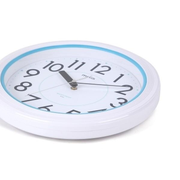 バスクロック お風呂用壁掛け時計 お風呂の時計 防水時計 浴室 バスルーム ホワイト|kanaemina|04