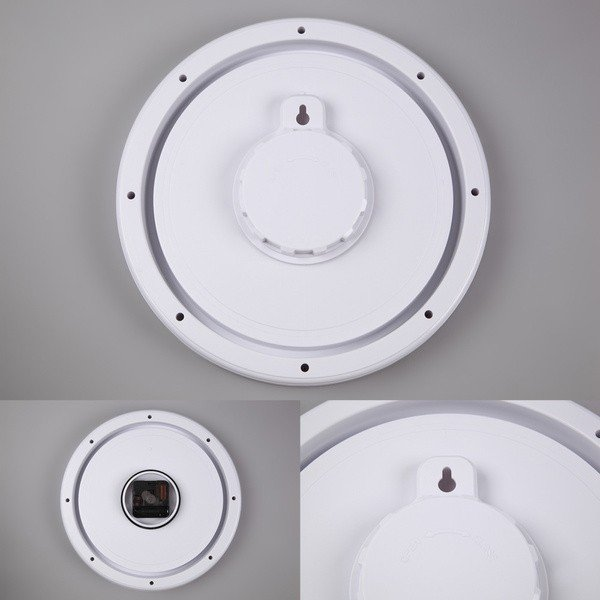 バスクロック お風呂用壁掛け時計 お風呂の時計 防水時計 浴室 バスルーム ホワイト|kanaemina|06