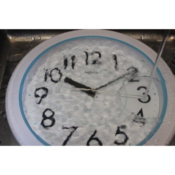 バスクロック お風呂用壁掛け時計 お風呂の時計 防水時計 浴室 バスルーム ホワイト|kanaemina|07