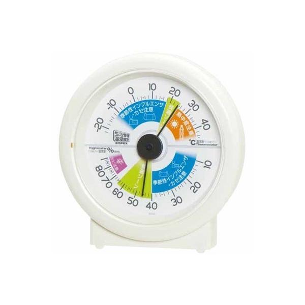 温湿度計 温度計 湿度計 快適ゾーン アナログ 卓上置き用 インフルエンザ 熱中症対策グッズ
