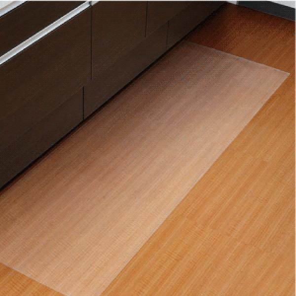 システムキッチン用汚れ防止キッチンマットキズ防止樹脂製保護マット180cm