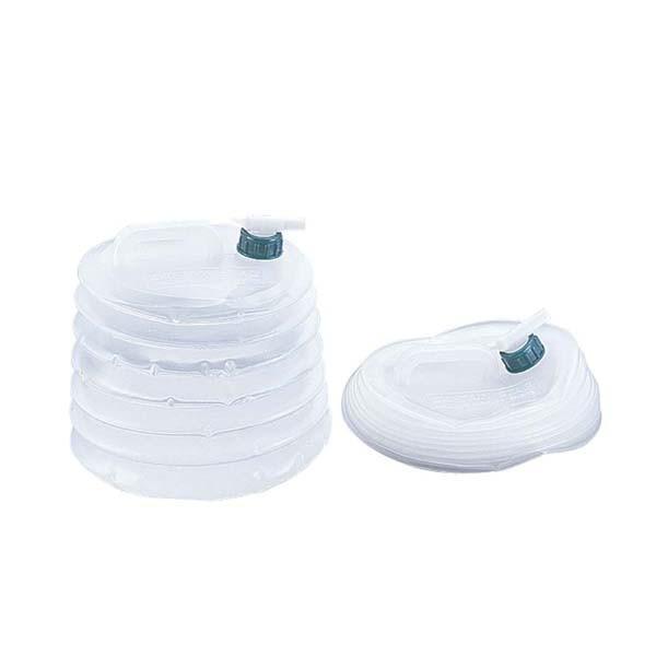ウォータータンク 水用ポリタンク 抗菌 伸縮式 アウトドア 大容量 10L|kanaemina
