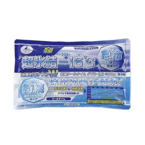 保冷剤 保冷パック ソフト ジェル 超氷結 氷点下 急速冷却 強力 長時間 抗菌 300g