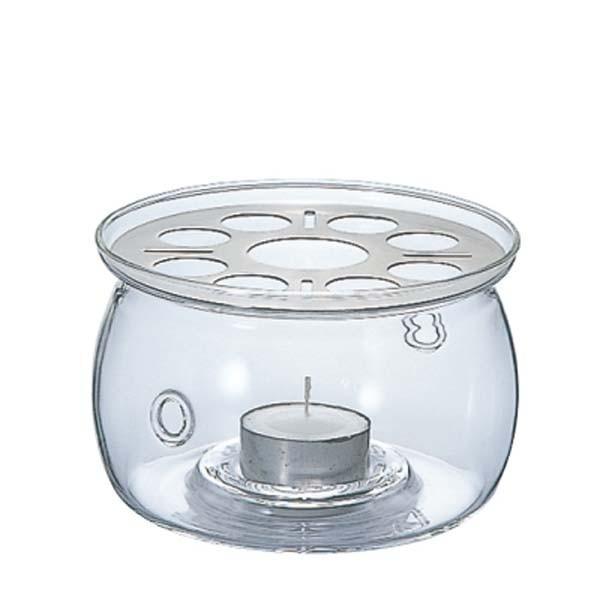 ティーウォーマー ガラス製 キャンドルウォーマー S ハリオ|kanaemina