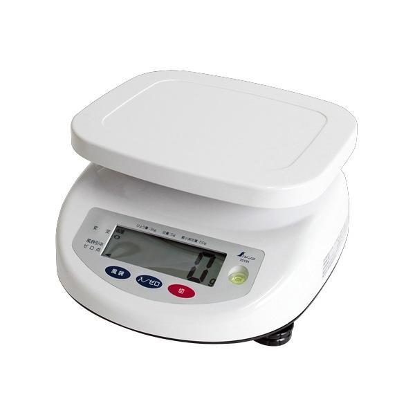 シンワ デジタル上皿はかり 3kg 取引証明用 70191 検定証印付 文字高30mmで大きく見やすい液晶 バックライト機能付
