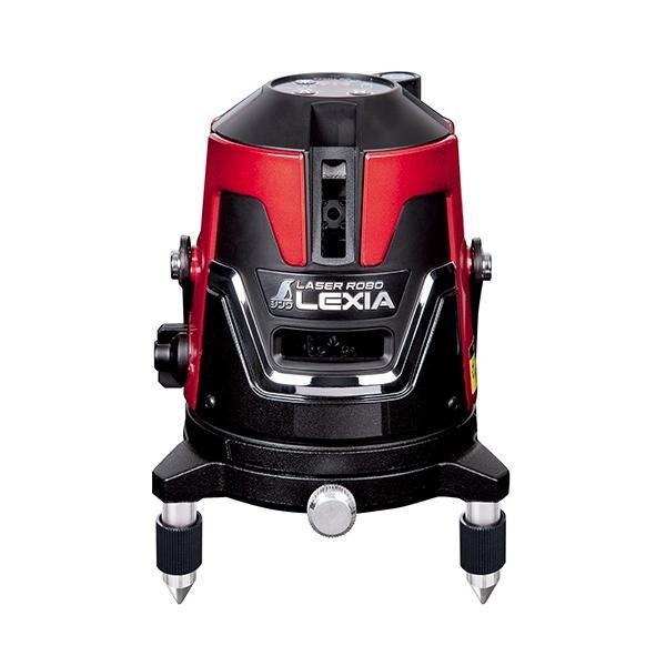 シンワ レーザー墨出し器 70933 レーザーロボ LEXIA 31 レッド 作業能率アップの大矩照射タイプ 高出力レーザー 赤色レーザー墨出器