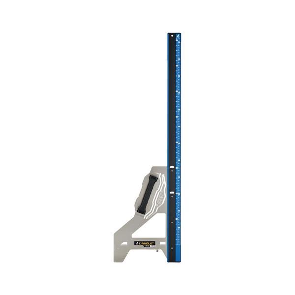 シンワ 丸ノコガイド定規 エルアングル Plus 1.2m 併用目盛 73153 スライド・ストップシステム ワイドヘキサグリップ 特殊中空形状 大型商品