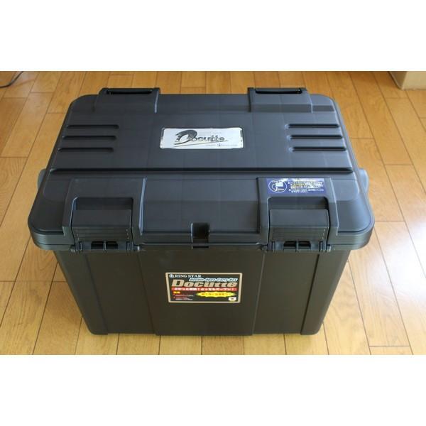 NEW【リングスター】大型工具箱 ドカット D-5000 オリジナルカラー 本体マットブラック/ 蓋ブラック/ブラックバックル 中皿が小さくなりました。