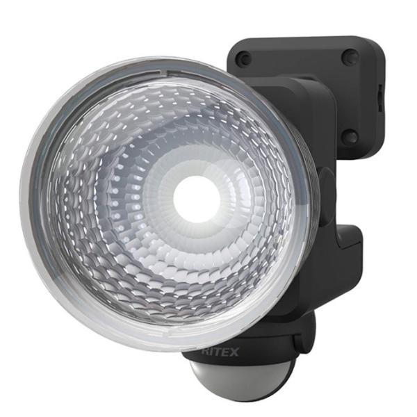 ムサシ 1.3W×1灯 フリーアーム式 LED乾電池センサーライト LED-115 ライテックス 110ルーメン LED寿命約40000時間 musashi