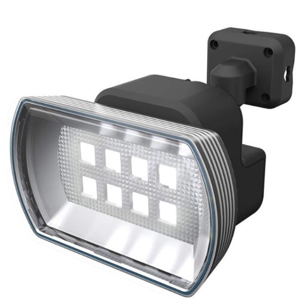 ムサシ 4.5W ワイド フリーアーム式 LED乾電池センサーライト LED-150 ライテックス 400ルーメン LED寿命約40000時間 musashi