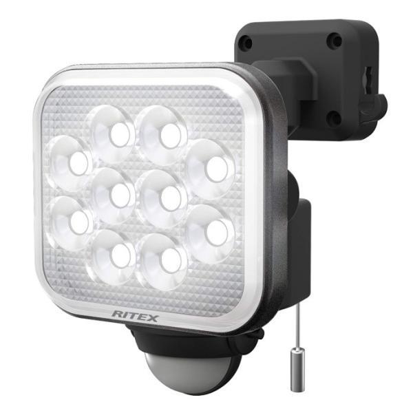 【ムサシ】 ライテックス LEDセンサーライト 12Wx1灯 約1000ルーメン LED-AC1012