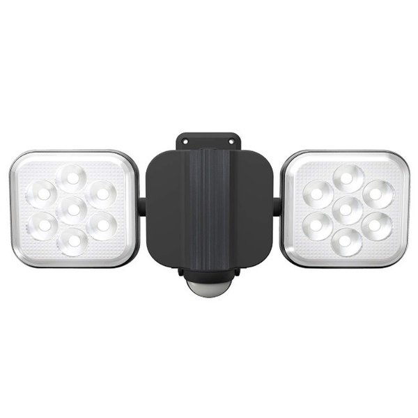 ムサシ 8W×2灯 フリーアーム式LEDセンサーライト LED-AC2016 ライテックス 1500ルーメン LED寿命約40000時間 musashi