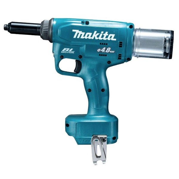 マキタ 充電式リベッタ RV150DZ 本体のみ センターハイト約26mm リベットφ2.4/3.2/4.0/4.8mm用付属セット品 18V対応 makita