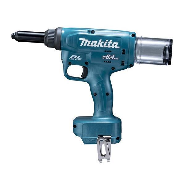 マキタ 充電式リベッタ RV250DZ 本体のみ センターハイト約26mm リベットφ4.8/6.0/6.4mm用付属セット品 18V対応 makita