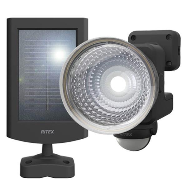 ムサシ 1.3W×1灯 フリーアーム式 LEDソーラーセンサーライト S-15L ライテックス 110ルーメン LED寿命約40000時間 musashi