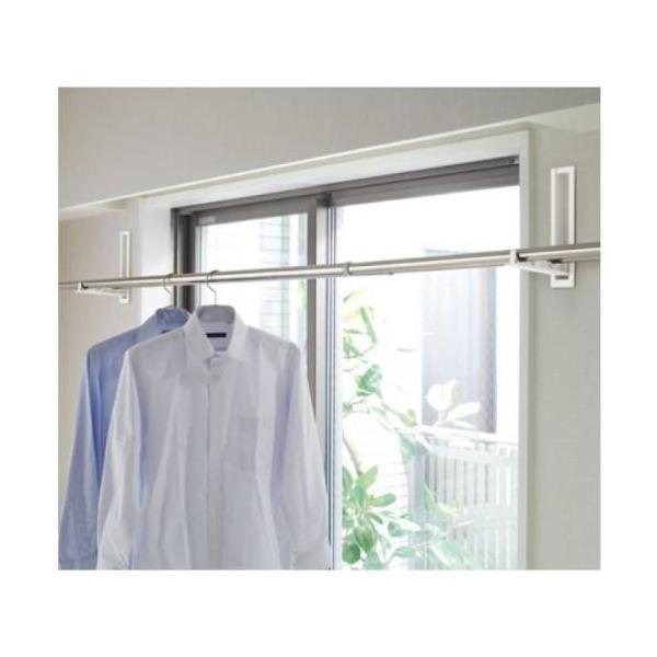 杉田エース 243-495 室内物干し 室内用 サンウイング 200 壁埋込タイプ|kanaonisky|02