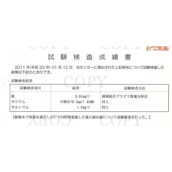 おいしい水 ストレート(SOLD OUT 10月末お届け予定)|kanayamayaki|05