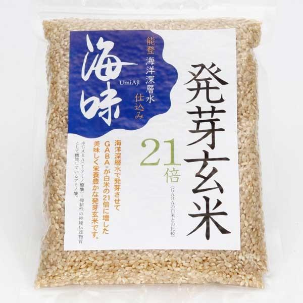 ≪海味≫能登海洋深層水仕込み「海味」発芽玄米(1kg×1袋)