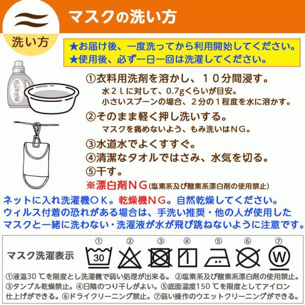 接触冷感シトラスリボンマスク大人用(愛媛県/日本製)洗える1枚入 kanbankobo 18