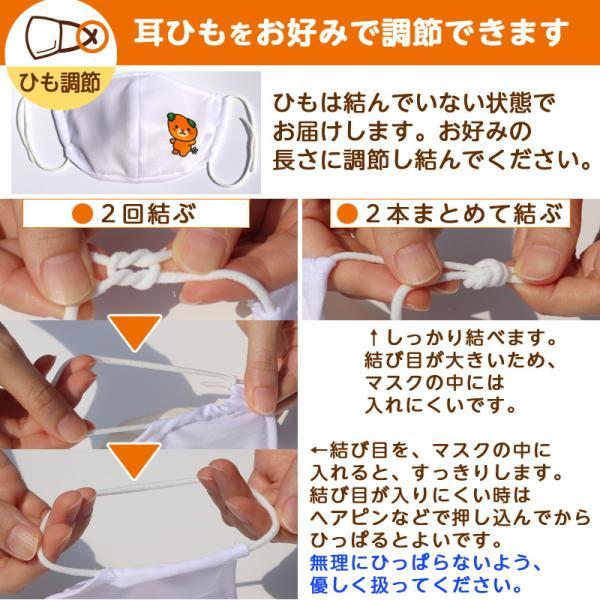 オリジナルみきゃん大人用マスク(愛媛県/日本製)洗える1枚入 水着素材|kanbankobo|16