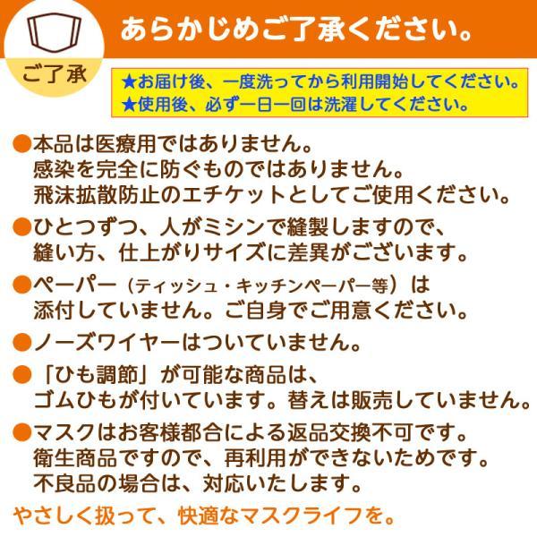 オリジナルみきゃん大人用マスク(愛媛県/日本製)洗える1枚入 水着素材|kanbankobo|19