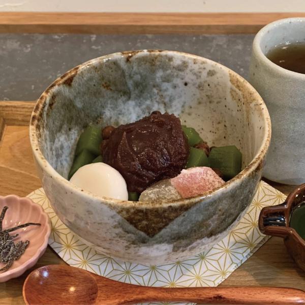 抹茶あんみつ 3人前セット 愛知県西尾市の風味豊かな抹茶で作る手作り抹茶寒天|kanda-fukuoshouten|02