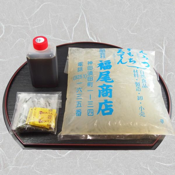 ところてん 4人前セット 伊豆・伊豆諸島産の天草のみで作る生寒天|kanda-fukuoshouten|03