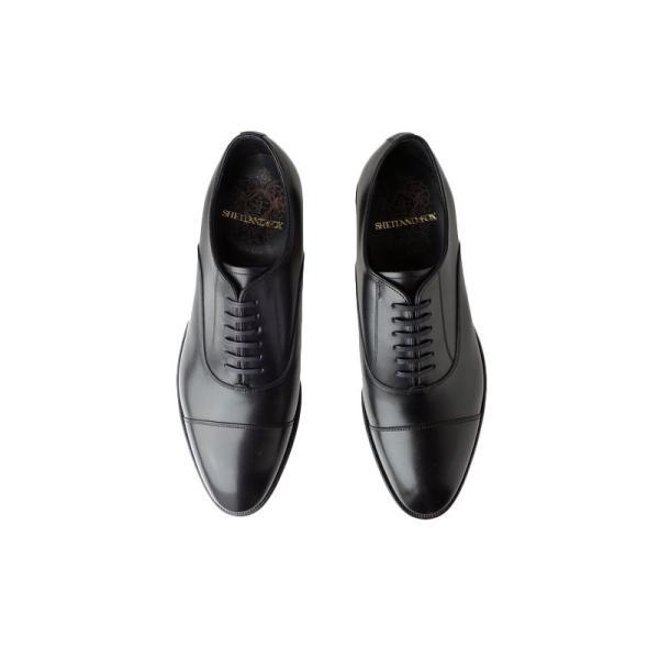シェットランド フォックス SHETLAND FOX コベントリー ストレートチップ 002FSF ブラック 本革 靴 メンズ ビジネスシューズ kanda-mimatsu 06