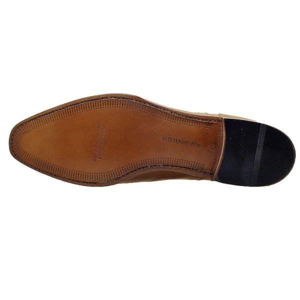 シェットランド フォックス SHETLAND FOX バーミンガム ストレートチップ 041FSF ブラウン 本革 靴 メンズ ビジネスシューズ|kanda-mimatsu|03