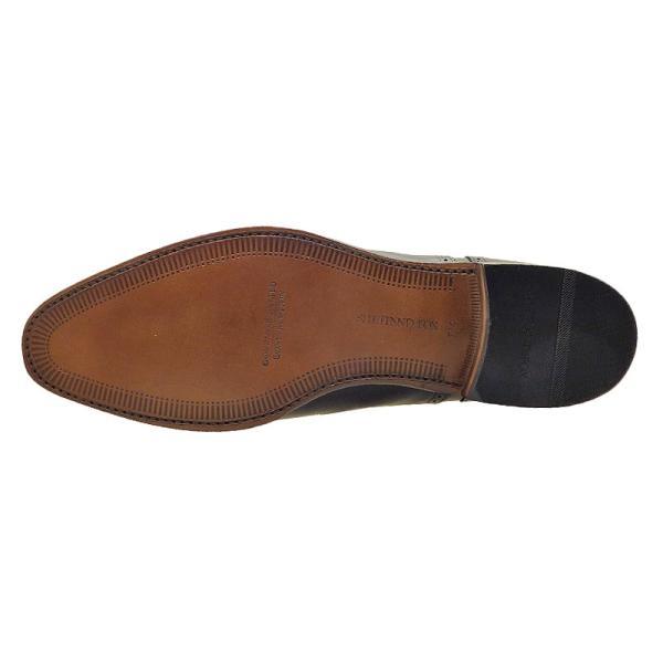 シェットランド フォックス SHETLAND FOX バーミンガム セミブローグ 042FSF ブラック 本革 靴 メンズ ビジネスシューズ|kanda-mimatsu|03