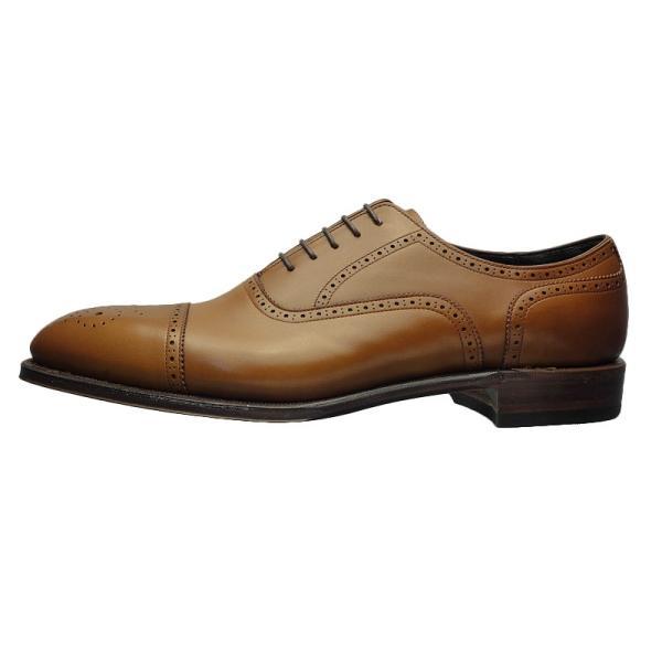 シェットランド フォックス SHETLAND FOX バーミンガム セミブローグ 042FSF ブラウン 本革 靴 メンズ ビジネスシューズ|kanda-mimatsu|02