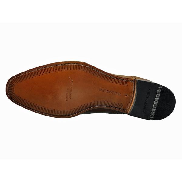 シェットランド フォックス SHETLAND FOX バーミンガム セミブローグ 042FSF ブラウン 本革 靴 メンズ ビジネスシューズ|kanda-mimatsu|03