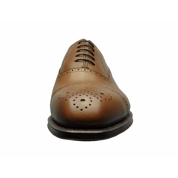シェットランド フォックス SHETLAND FOX バーミンガム セミブローグ 042FSF ブラウン 本革 靴 メンズ ビジネスシューズ|kanda-mimatsu|04