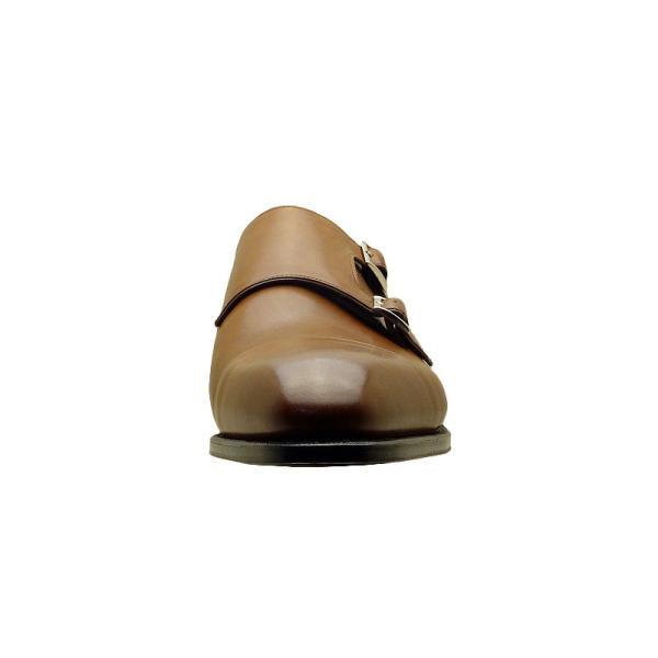 シェットランド フォックス SHETLAND FOX バーミンガム ダブルモンクストラップ 043FSF ブラウン 本革 靴 メンズ ビジネスシューズ|kanda-mimatsu|04