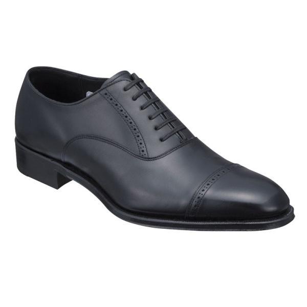 シェットランドフォックス SHETLAND FOX 077FSF ブラッドフォード/ストレートチップ ブラック メンズ 革靴 紳士靴|kanda-mimatsu
