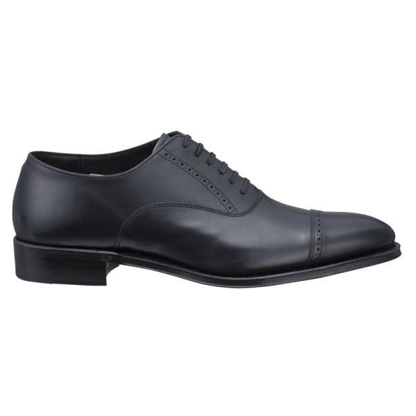 シェットランドフォックス SHETLAND FOX 077FSF ブラッドフォード/ストレートチップ ブラック メンズ 革靴 紳士靴|kanda-mimatsu|02