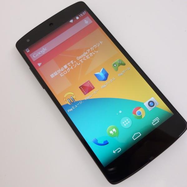 Nexus 4 16GB ホワイト SIMフリーの画像