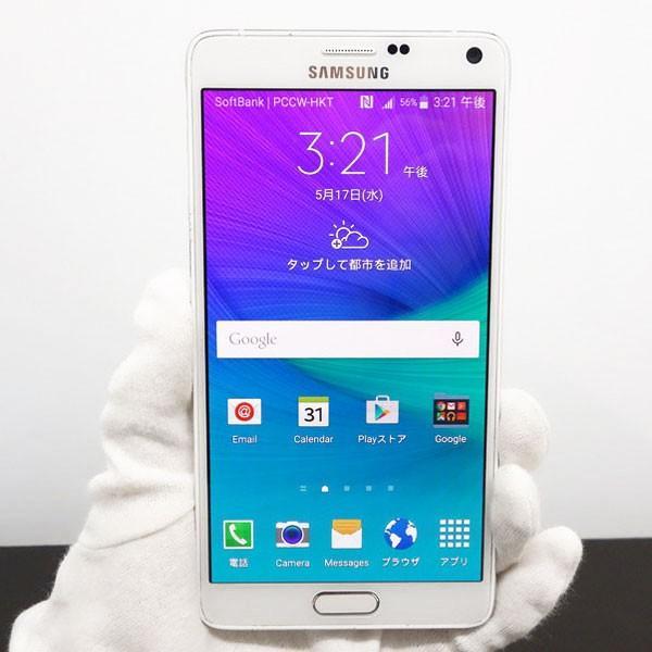 GALAXY Note 4 SM-N910U 32GB ホワイト SIMフリーの画像