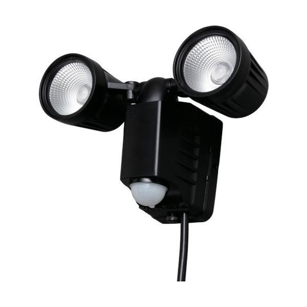 IRIS AC式LED防犯センサーライト 1500lm 2灯