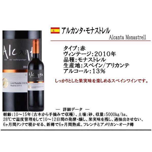 赤ワイン アルカンタ 2010 モナストレル スペイン 赤ワイン kandasyouten 02
