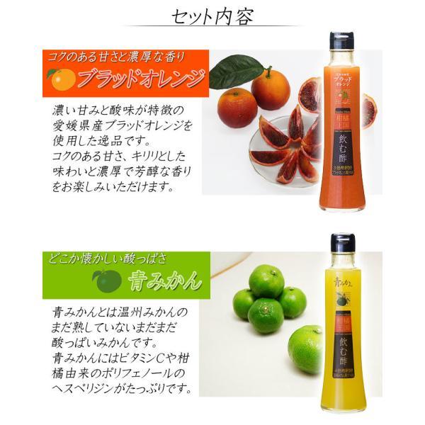 父の日 プレゼント 飲むお酢 飲む酢 ギフト ゆず ブラッドオレンジ 青みかん 果実酢 フルーツ酢|kandasyouten|08