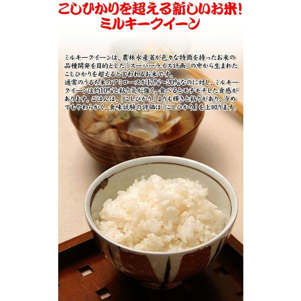 お米 お試し ポイント消化 千葉県産 ミルキークイーン 2合 (300g)|kanekokome|03