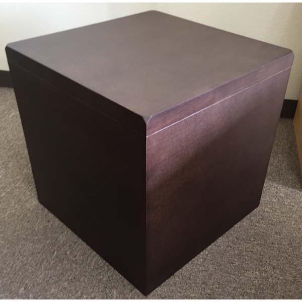 【数量限定】コスタカローテーブル4040 KostkaLowTable4040(スツールとしても使用可能)(W400×D400×H400)ダークブラウン/ライトブラウン【送料無料】|kanesen-kagu