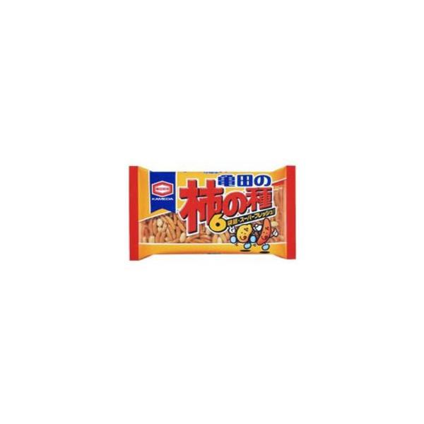 亀田の 柿の種 6袋詰210g1箱12袋入